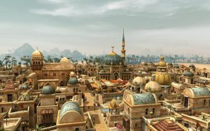 Anno 1404 - Desert Town by Shroomworks