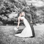 Wedding formal, infrared by jblaschke