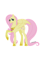 Element of kindness - adult Fluttershy by Silverarrow87