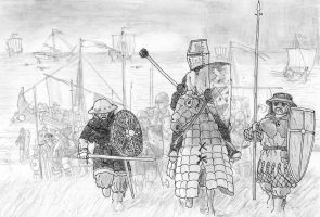 Birger Jarl leads the II Swedish Crusade, 1249 AD by FritzVicari