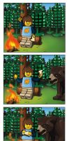 LEGO Max Comic- City Forest Comic by button920