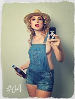 Selfpic Girl 04 (Farm Girl) by MarkScheider