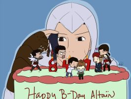 Happy Birthday, Altair by n4c9s