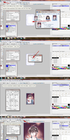 MangaStudio Tutorial: Applying Colored Screen Tone by airibbon