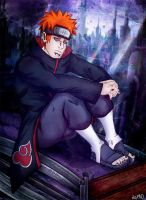 Pein from the Rain by nupao
