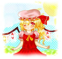 Flandre : Little Scarlet Devil by KiGaMin