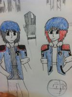leon and lexions new look by demonxslayer12