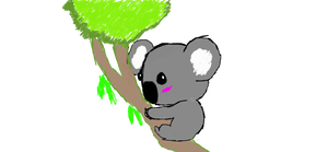 Koala for Animecutee by ZekroRaptor