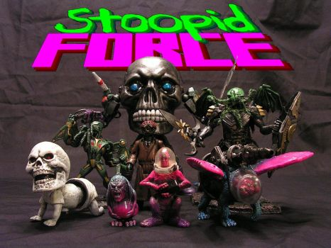 Stoopid Force series 16 by monsterforge