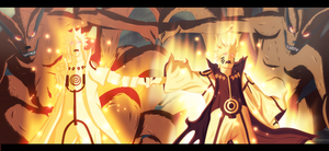 Naruto 643 Manga Chapter - Let's do this Guys! by NuclearAgent