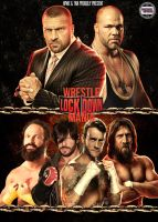 WrestleLockDownMania Poster by AY by AyBenoit12