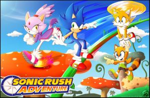 A Sonic Rush Adventure by Sayamiyazaki