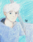 Jack Frost for Art Trade by a-new-way-of-seeing