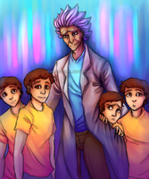 Morty Orphanage by itami-salami