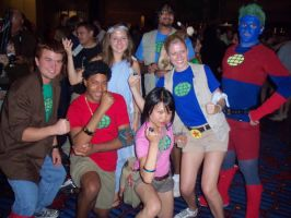 The Planeteers at Dragon Con by Scream01