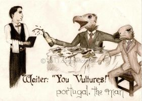 Waiter: ''You Vultures'' cover by damnheliotrope