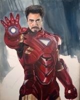 Avengers Ironman by solisthe1