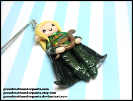 Legolas Bookmark by GrandmaThunderpants