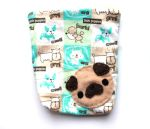 Pug Pouch by CosmiCosmos