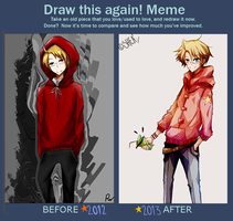 Draw this Again/ Meme by s102912