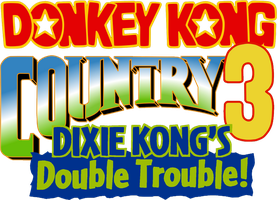 Donkey Kong Country 3 logo by RingoStarr39