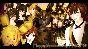Happy 1st Anniversary, FNAF 3!! (LATE) by TwilightAngelTM