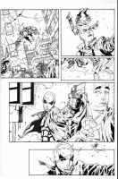 Red Hood Sequential inks by JosephLSilver