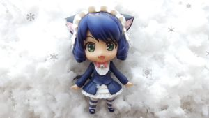 Snow - Nendoroid Wallpaper - Cyan 1 by ng9