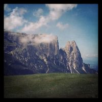 the Alps - Italy by siby