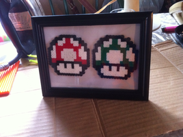 Perler Projects by Perlerart