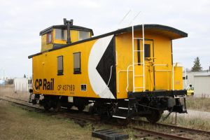 CP Rail Caboose by 914four