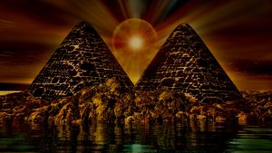 pyramids 2  HDR2 by Topas2012