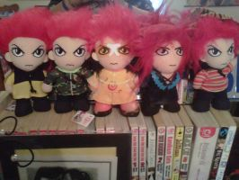 My wonderful hide dolls by XxhideFreakxX
