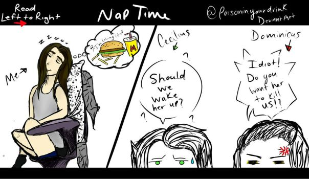 Nap Time by poisoninyourdrink