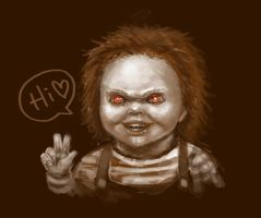 Chucky doodle by f-wd