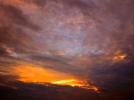 Oct Sky over North Florida IV by Heidipickels