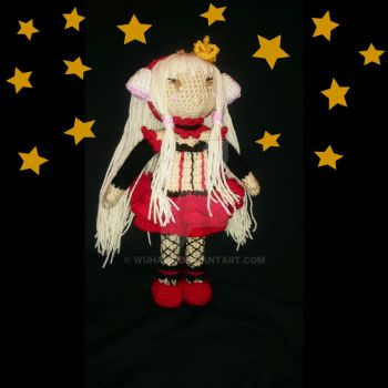 Chii Red Queen amigurumi by WuHara