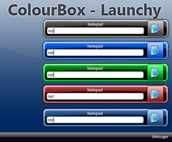 Color Box Launchy by Antscape