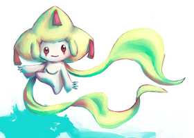 Dat Jirachi by malloweater