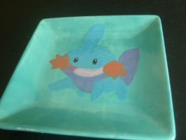 Mudkip Plate 2 by ZooManiac