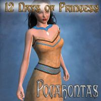 12 Days of Princess - Pocahontas by mylochka