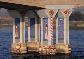Bridge over the Nile by AndySerrano