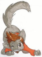 Larry Butz Kitty by stealthseme