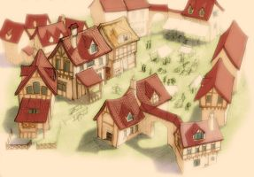 Village de grimm by carbrax