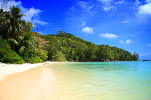 Seychelles beach by alchsh