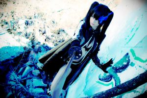 Battle Line - Black Rock Shooter by Shirokii