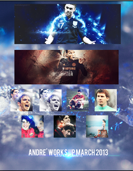 ANDRE'WORKS UP MARCH 2013 - SOCCERFANTASYART.ORG by andreasfa