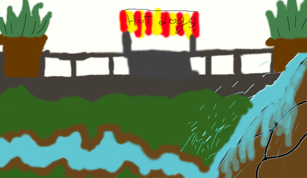 I LOVE HOT DOG STANDS! AND WATERfaLLS! by April11211