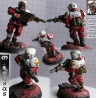 Imperial Guard Cadian Medic by R3app3r