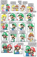 Mario: I'd LYTM - Comic Swap by saiiko